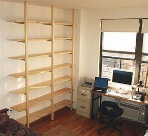 Adjustable Shelves for $250 Free standing shelves