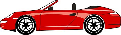 cartoon sports car side view vehicle clipart car side view pencil and in color
