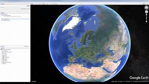 Using Google Earth To Determine The Direction Of A Surface