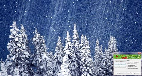 Animated Snow Desktop Wallpaper 1 2 0 - snow animated wallpaper