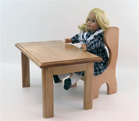 18 inch doll furniture 18 inch doll furniture school desk table and chair