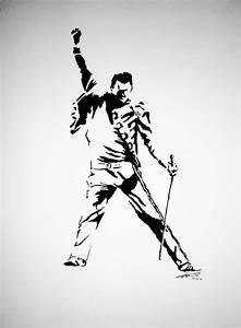 Freddie Mercury Silhouette Pose | www.pixshark.com ...
