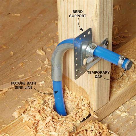 kitchen sink supply lines pex plumbing with pex tubing diy projects plumbing pex