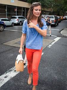 Pippa Middleton Looks Pretty Dressed Down In Red Jeans And