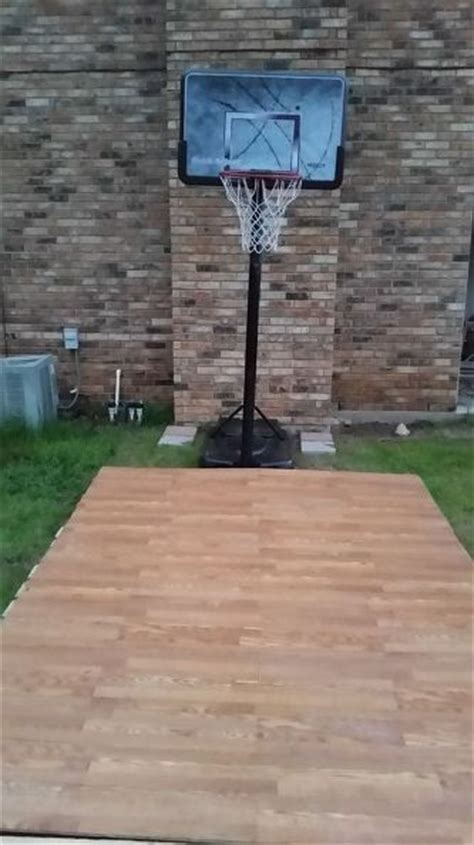 How To Make A Court In Your Backyard by Basketball Court Diy Pallet And Outdoor Furniture Pallets