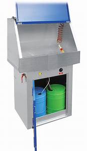 Manual Solvent Parts Washer 720b