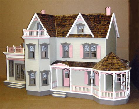 Stunning Dollhouse Floor Plans Ideas by Free Doll House Floor Plans Woodworker Magazine