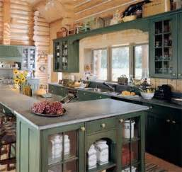 Log Cabin Kitchen Cabinet Ideas by 25 Best Ideas About Log Home Kitchens On Log