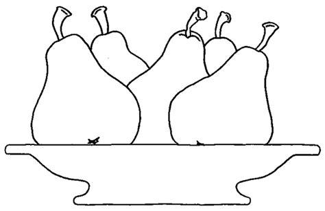 jardin de cuisine dididou coloriage fruits poire page 2