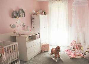 revgercom decoration pour chambre bebe fille idee With chambre de bebe fille photo