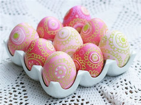 easter egg designs ideas 12 easter egg decorating ideas be creative and go beyond egg dyeing