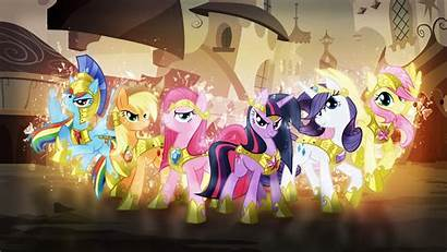 Pony Magic Friendship Mlp Mane Wallpapers Fim