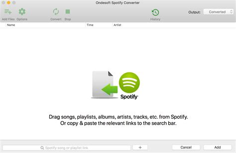 You can use this program how to download music from spotify on computer without spotify premium. Music Converter for Spotify - Convert Spotify Music to MP3 in seconds