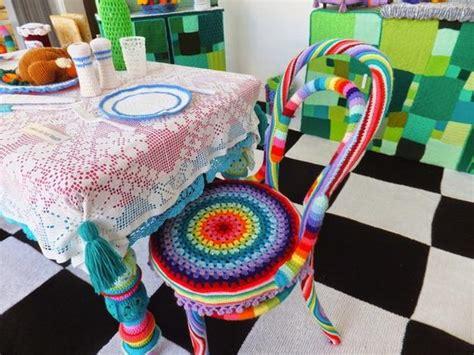 colorful crochet kitchen decor unique craft ideas for