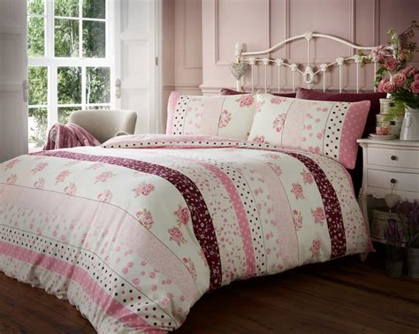 Bed Linens : Flannelette Luxury 100% Brushed Cotton Duvet Cover