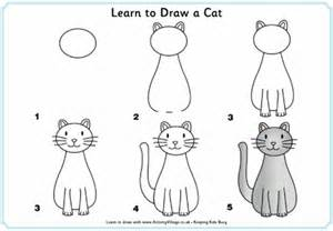 how to draw a cat 20 easy animals to draw for practice hobby lesson
