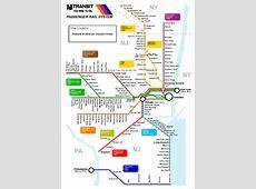 nj transit jersey coast line map
