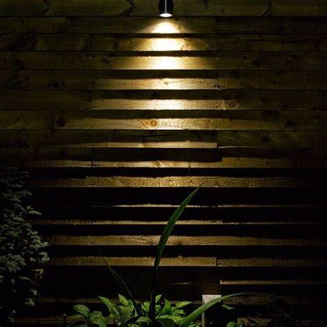 hunza wall down light light your garden downlights