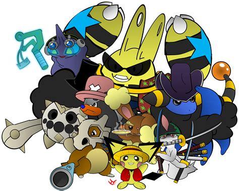 pokemon funny  piece anime wallpaper hq