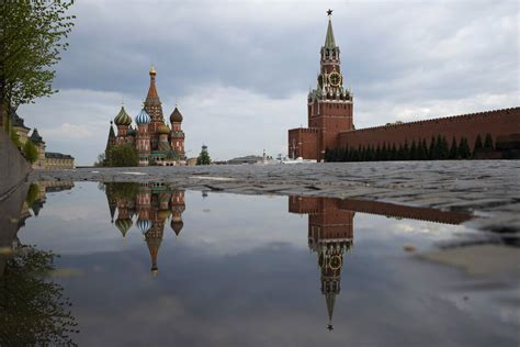 Special Disinfection Tunnels Installed for Putin ...