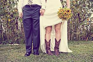 i39m wearing cowboy boots at my wedding spirit With wedding dress cowboy boots