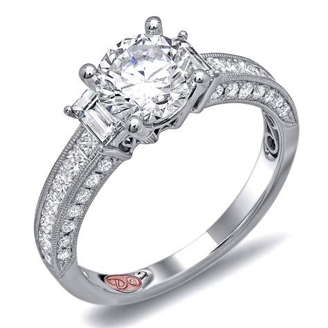 unique engagement rings dw6129
