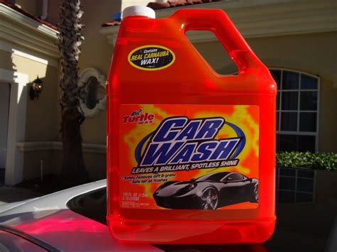 turtle wax car wash review  test results