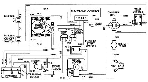 Maytag Centennial Dryer Wiring Diagram