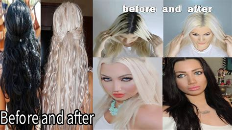 How To Dye Black Hair To Platinum Blonde Demo Youtube