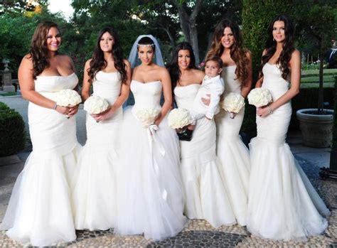 Kris Humphries' Sis Rocks Bridesmaid Gown From Kim K