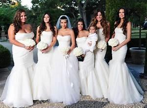 Kris Humphries' sis rocks bridesmaid gown from Kim K ...