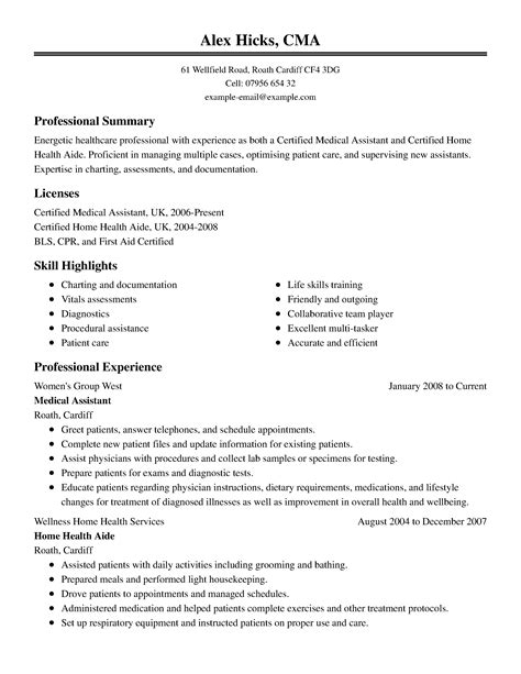 healthcare resume template  microsoft word livecareer