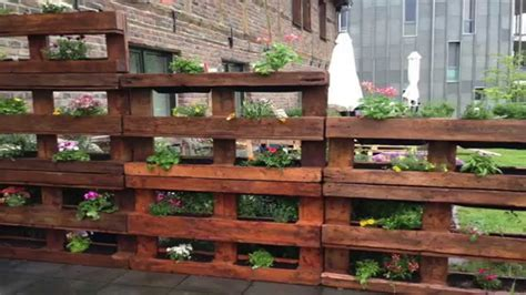 great pallet vertical gardens youtube