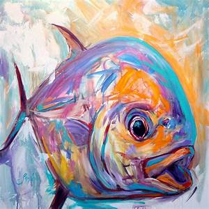 Contemporary Art Painting - Epressionist Permit ...
