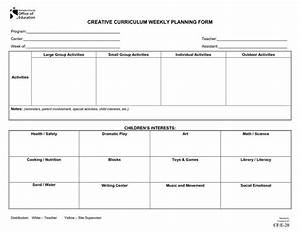 infant blank lesson plan sheets preschool morning lesson With creative curriculum for preschool lesson plan templates