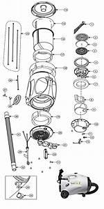Proteam Quietpro Cn Hepa Vacuum Cleaner Parts