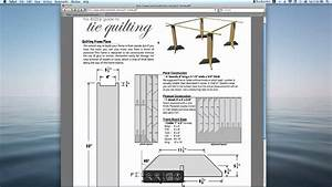 Tie Quilting Frame Plans Easy To Build  U0026 Free From