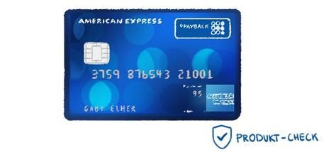 die payback american express karte im produkt check auf