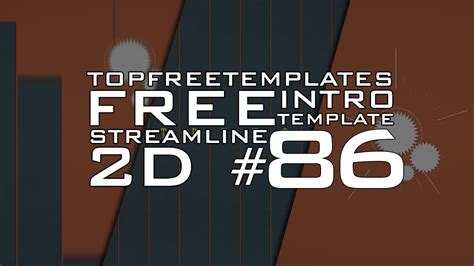 top free templates free after effects intro streamline 2d 86 w tutorial
