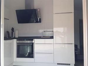 L Küche Mit E Geräten : nobilia k che wei ultrahochglanz l form neuzustand 9 monate alt mit luxus e ger ten induktion ~ Orissabook.com Haus und Dekorationen