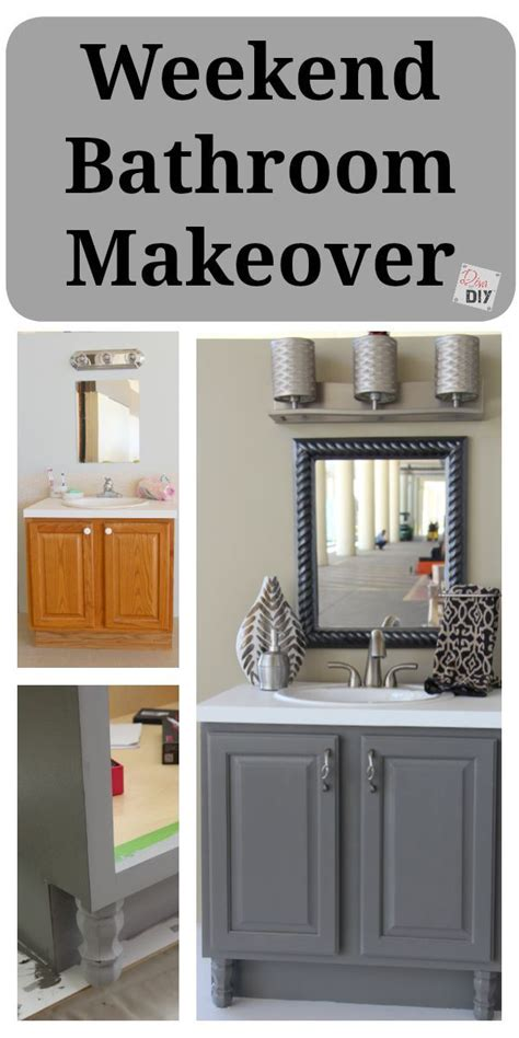 Diy Bathroom Makeover On A Budget by Bathroom Updates You Can Do This Weekend Diy Bathroom