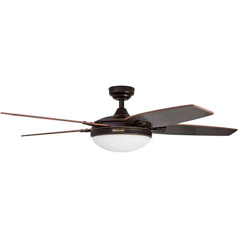 honeywell ceiling fan rubbed bronze finish 48