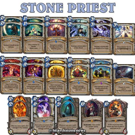 Priest Deck Hearthstone Frozen by 56 Best Images About Hearthstone On S
