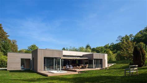 maison en bois sur mesure gilbert sa constructeur de maisons 224 ossature bois en normandie