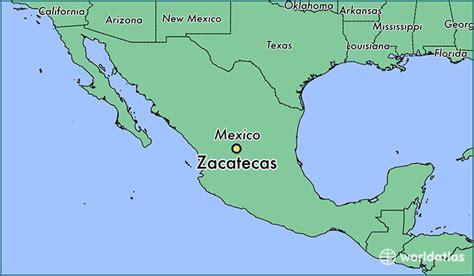 zacatecas mexico zacatecas zacatecas map
