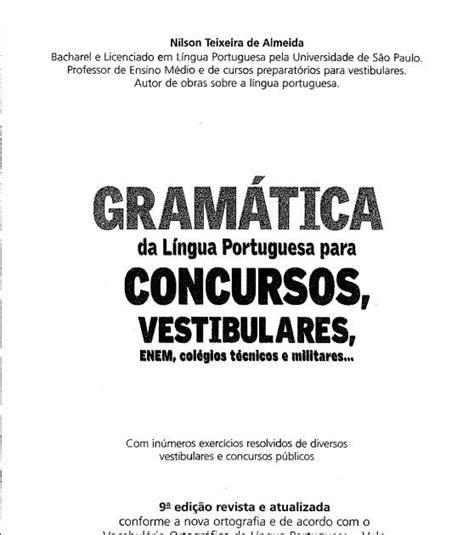 Gramatica da lingua portuguesa baixar.