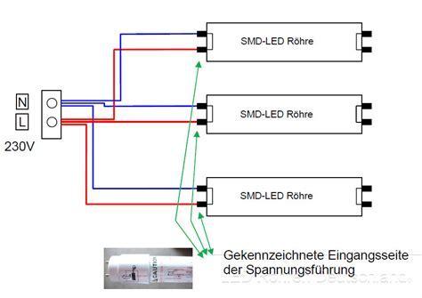 SMD LED Röhren   SMD LED Röhrenschaltung