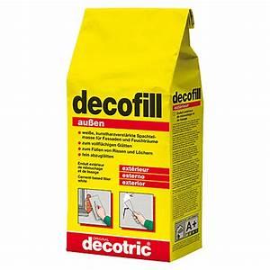 Spachtelmasse Für Aussen : decotric zement spachtelmasse decofill au en 5 kg 5921 null hadi null had null ~ Orissabook.com Haus und Dekorationen