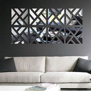Wonderful interior mirror wall art doherty house for Mirror wall art