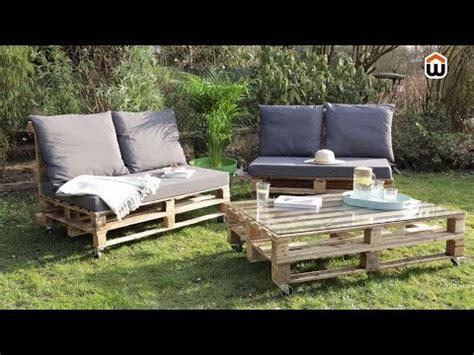 cr 233 er salon de jardin en palettes en bois diy